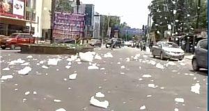nti-news-bangaluru-varthur-lake-chemical-snowfall